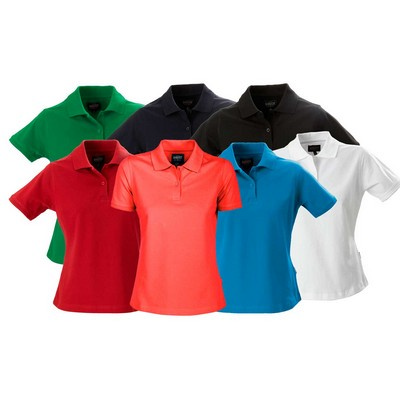 Albatross 95% cotton 5% lycra polo, ladies