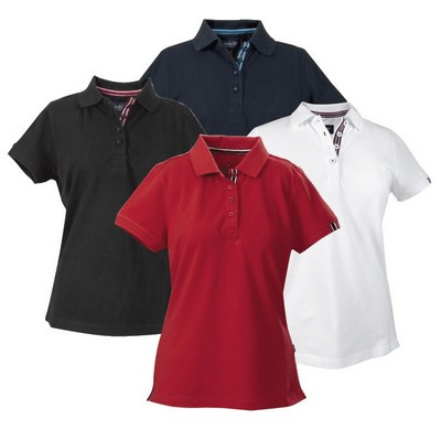 Avon Lady 100% combed cotton polo