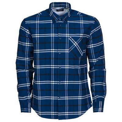 Brigham 100% brushed cotton shirt, mens