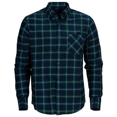 Clemson 100% brushed cotton shirt, mens