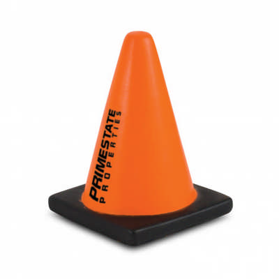 Stress Road Cone - (printed with 1 colour(s)) 107055_TNZ