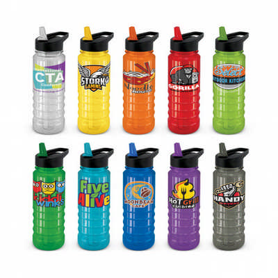 Triton Drink Bottle - Black Lid