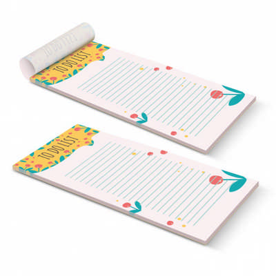 DLE Vertical Note Pad - 50 Leaves