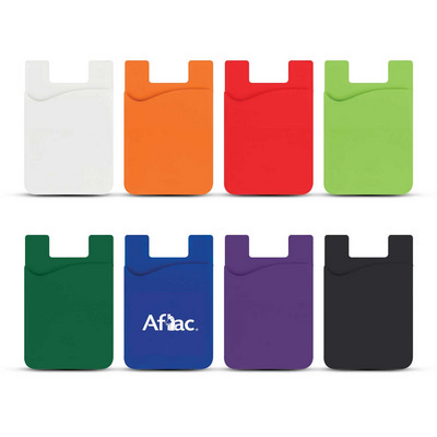 Silicone Magnetic Auto Air Vent Phone Wallet