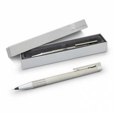 Lamy Logo Pencil - Brushed Steel