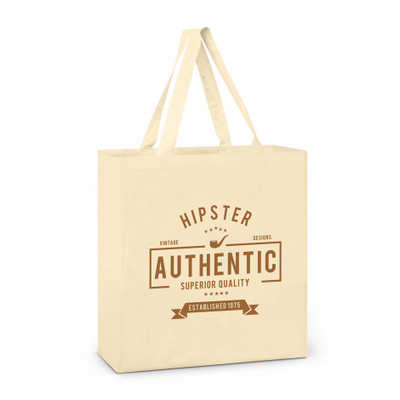 Carnaby Cotton Tote Bag - (printed with 1 colour(s))