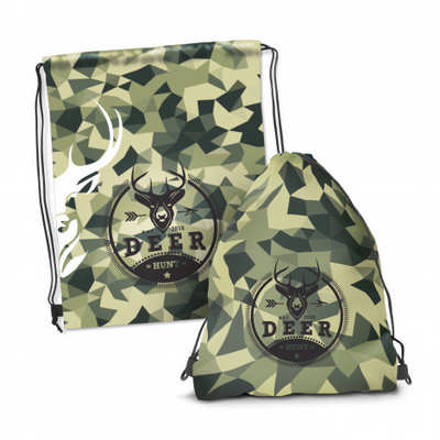 Drawstring Backpack - Full Colour  - (printed with 4 colour(s))