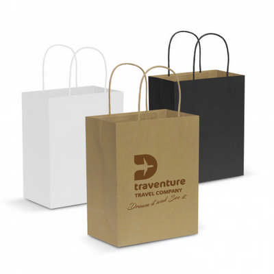 Paper Carry Bag - Medium - (printed with 1 colour(s))