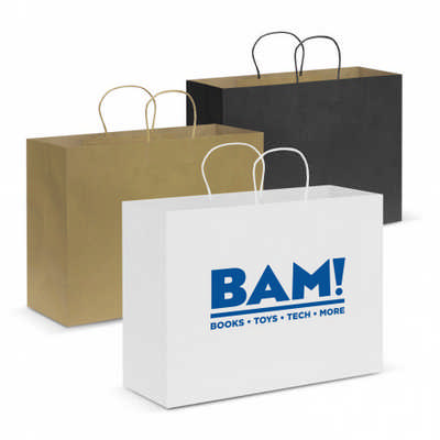 Paper Carry Bag - Extra Large - (printed with 1 colour(s))