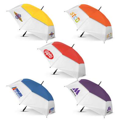 Trident Sports Umbrella - White Panels - (printed with 1 colour(s)) 107903_TRDZ