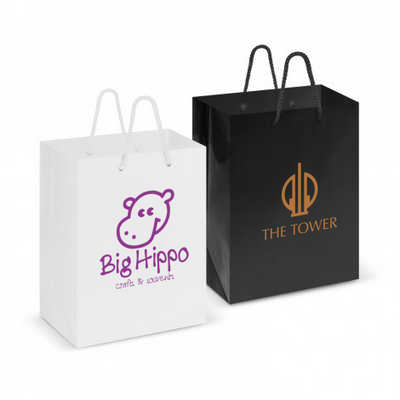 Laminated Carry Bag - Medium - (printed with 1 colour(s))