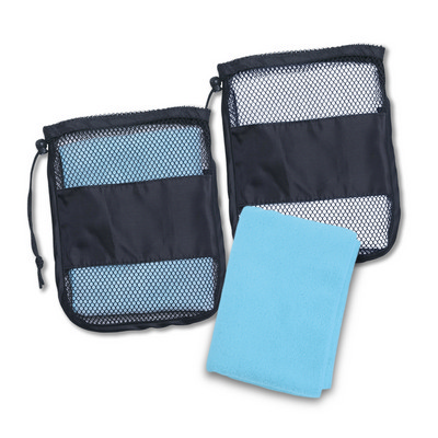 Sport Towel In A Bag - (printed with 1 colour(s)) 109363_TRDZ