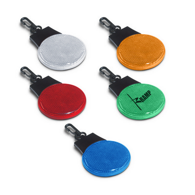 Round Tri Function Safety Light - (printed with 1 colour(s)) 109391_TRDZ