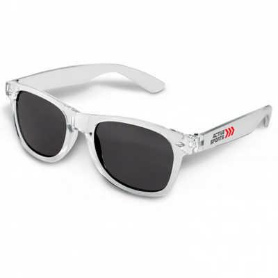 Malibu Premium Sunglasses - Translucent