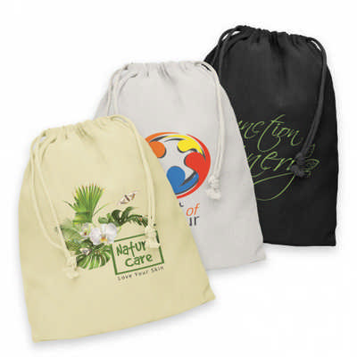 Cotton Gift Bag - Large - (printed with 1 colour(s))