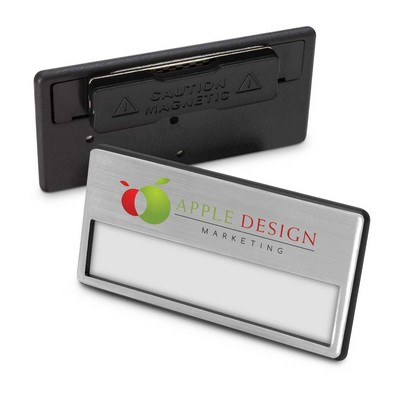 Magnetic Name Badge (112549_TRDZ)