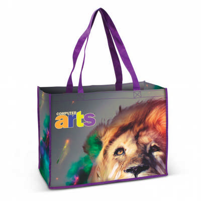 Aventino Cotton Tote Bag - (printed with 4 colour(s))