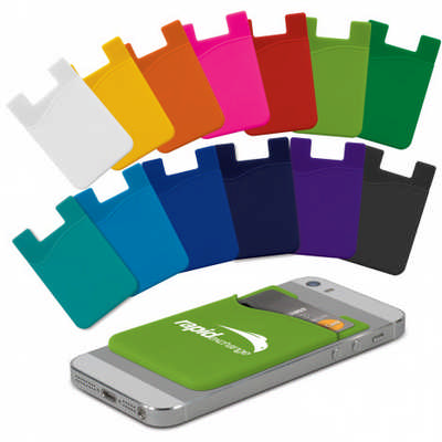 Silicone Phone Wallet - Indent (112928_TRDZ)
