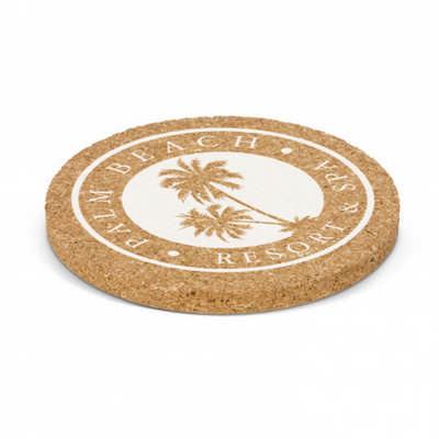 Oakridge Cork Coaster - Round - (printed with 1 colour(s))
