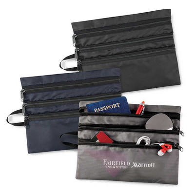 Tech Accessory Travel Bag - (printed with 1 colour(s)) 113425_TRDZ