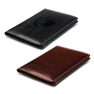 Executive RFID Passport Wallet - (printed with 1 colour(s)) 113435_TRDZ