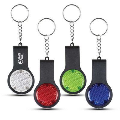 Reflector Key Light With Safety Whistle - (printed with 1 colour(s)) 113497_TRDZ