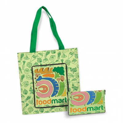 Cali Compact Cotton Tote Bag - (printed with 4 colour(s))