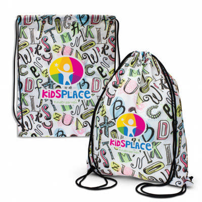Akron Drawstring Backpack - (printed with 4 colour(s))