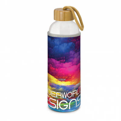 Eden Glass Bottle - Full Colour - (printed with 4 colour(s))