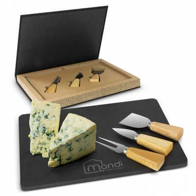Montrose Slate Cheese Board Set (116730_TRDZ)