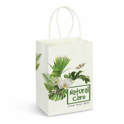 Small Paper Carry Bag – Full Colour - (printed with 4 colour(s))