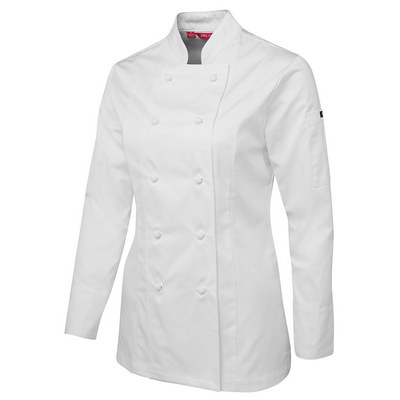 JBs Ladies L/S Chefs Jacket
