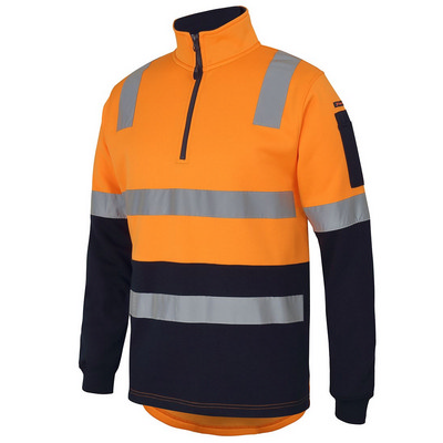 JBs 12 Zip Aust. Rail (D+N) Fleece Sweater