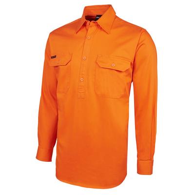Jbs Hv Close Front Ls 190g Shirt  6HVCF_JBS