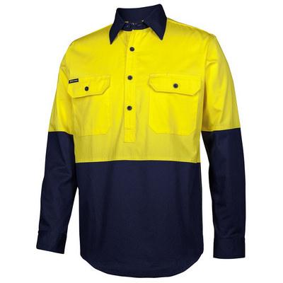 JBs Hv Close Front LS 150G Work Shirt