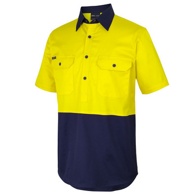 Jbs Hv Close Front Ss 150g Work Shirt  6HVCW_JBS
