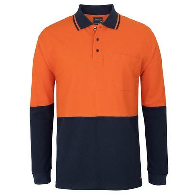JBs Hv LS Cotton Pique Trad Polo