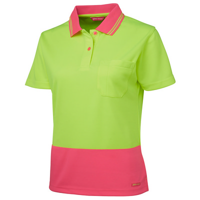 JB`S LADIES HV S/S COMFORT POLO