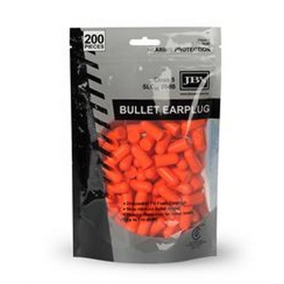 BULLET SHAPED EARPLUG (200 PIECES)