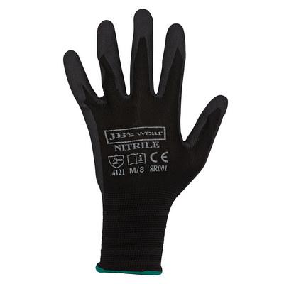 JBs Black Nitrile Breathable Glove (12 Pk)