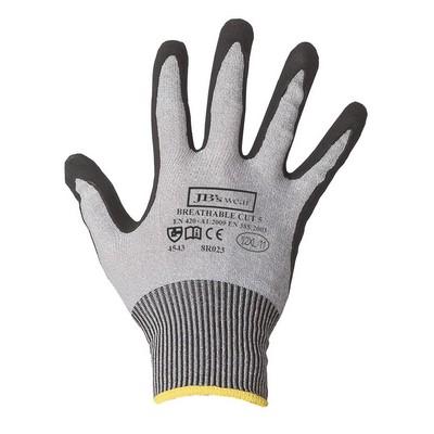 JBs Nitrile Breathable Cut 5 Glove (12 Pk)