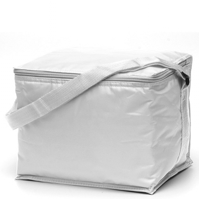 Basic 6 pack Cooler White (2301W_TVG)