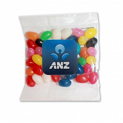 30g bag - Mini Mixed Jellybeans - (printed with 4 colour(s)) WL0001MX030GLAB_LOLLY